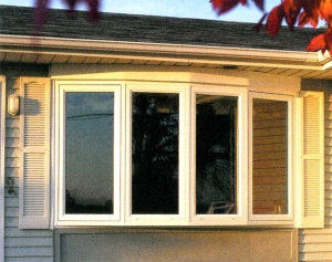 Sunrise bow window