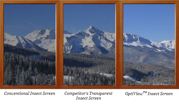 Sunrise OptiView(TM) Screens